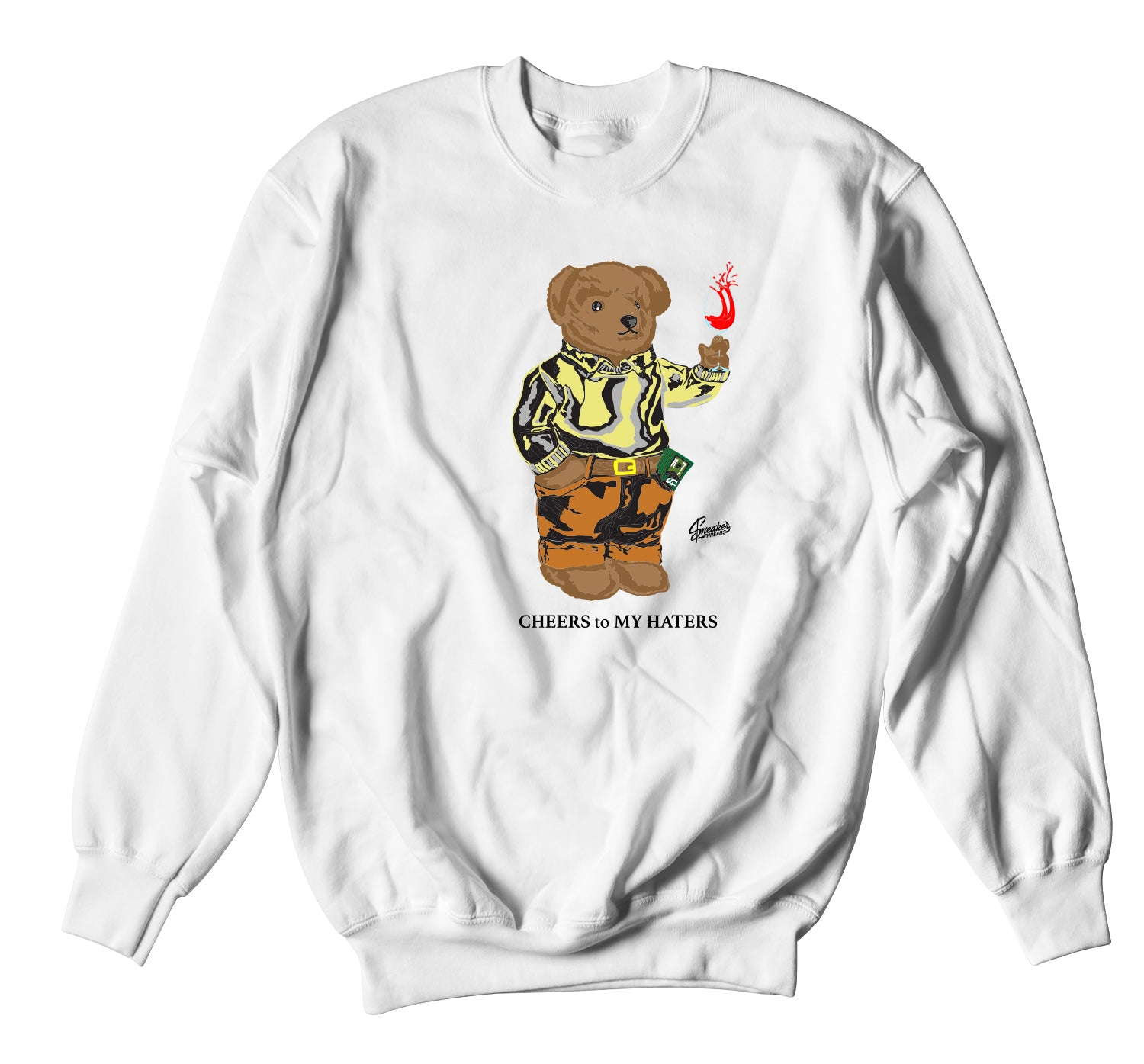 Yeezy Marsh Cheers Bear Sweater
