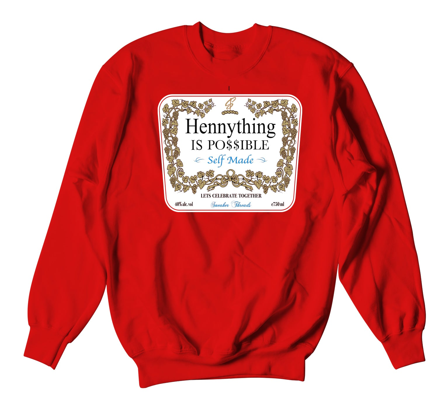 Jordan 1 NC To CHI  Hennything Sweater