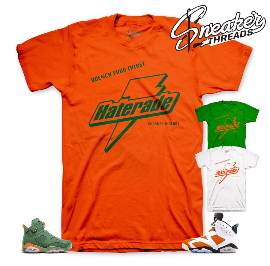 Fresh sneakers shirt match Jordan 6 gatorade be like mike.