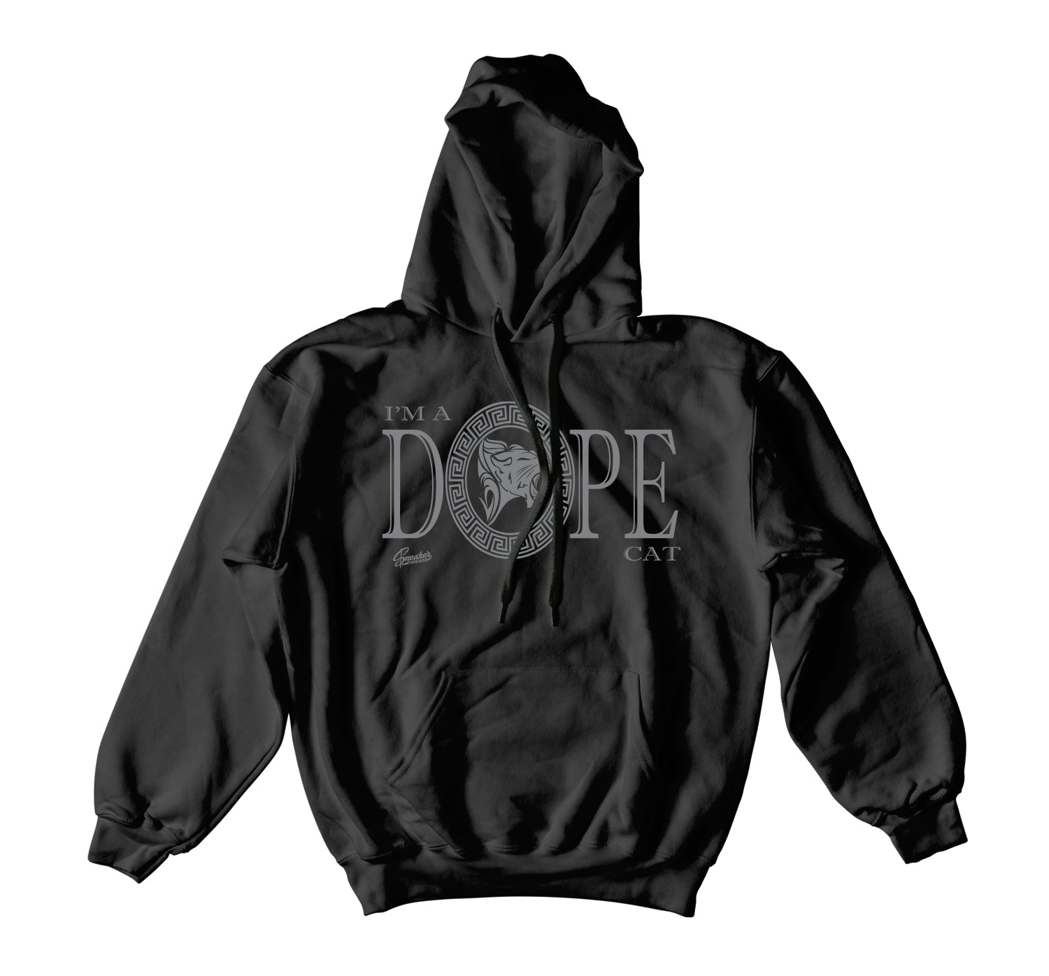 Jordan 4 Black Cat DPE Cat Hoody