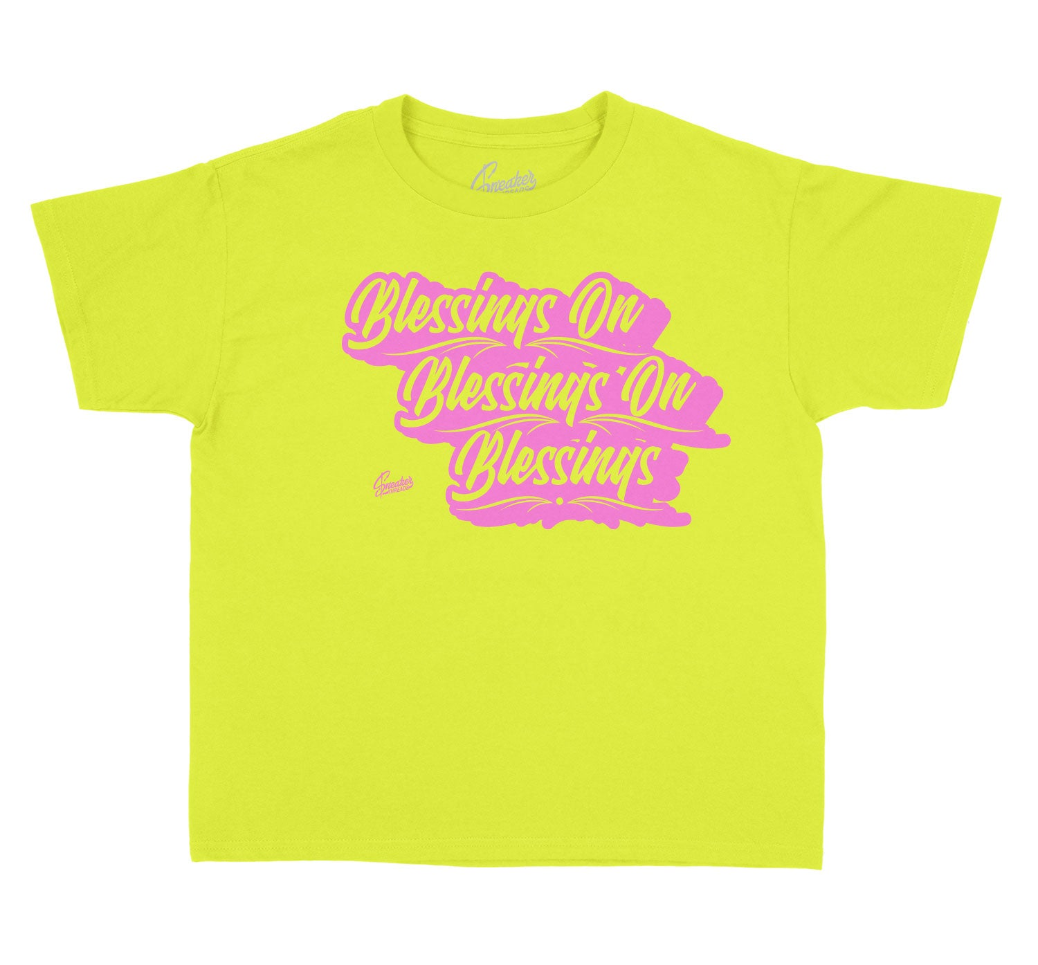 Lemon Venom Jordan 4 kids t shirts