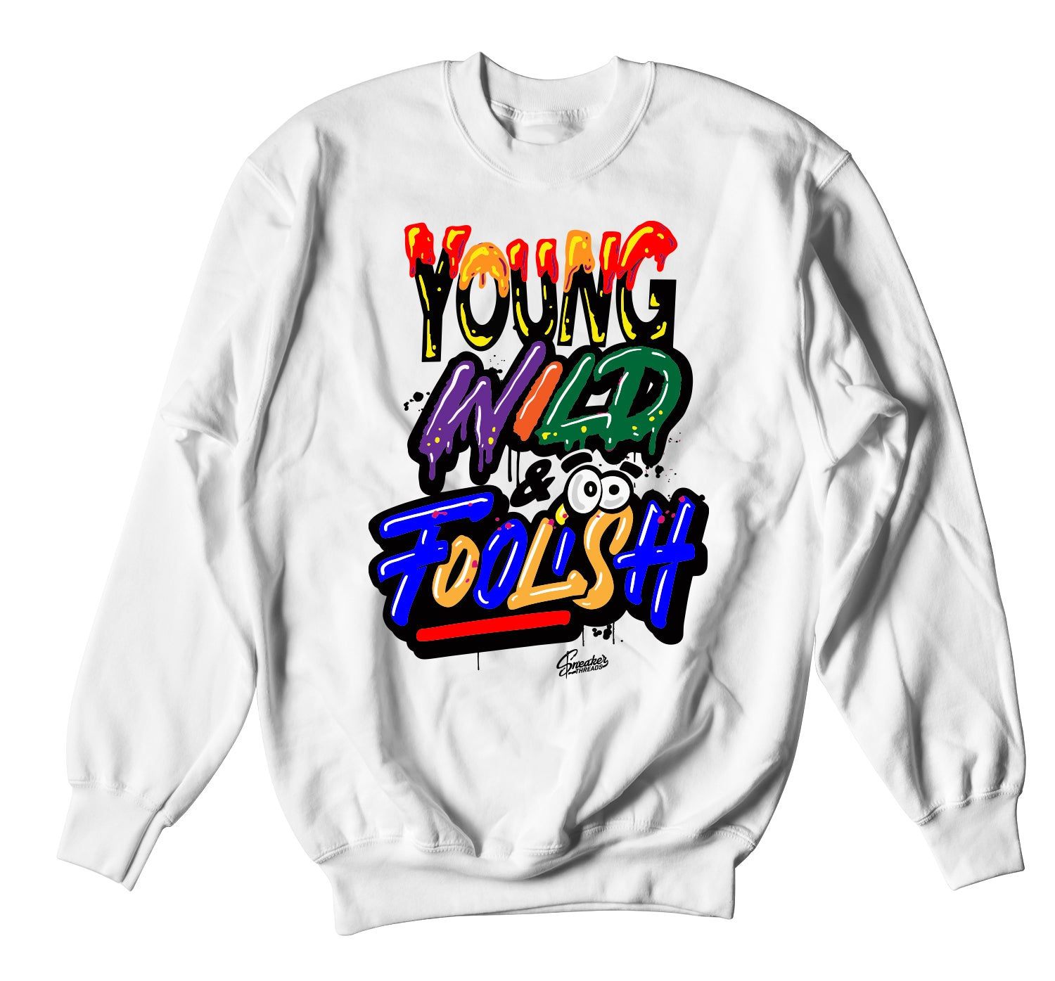 Jordan 2 Multi-Color Young Wild Sweater