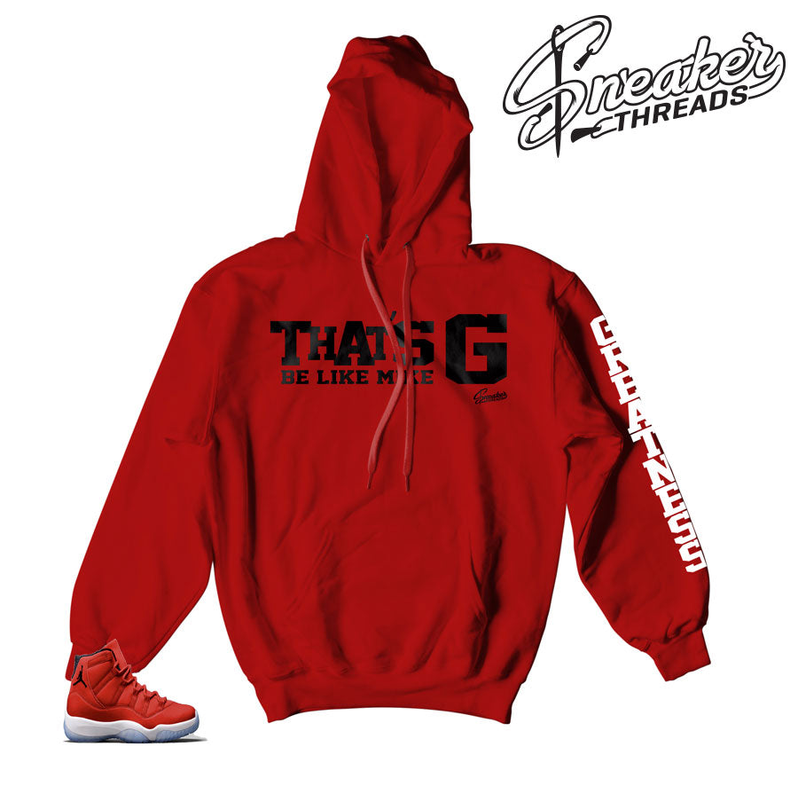 Hoodies match Jordan 11 win like 96 | Official hoodies match