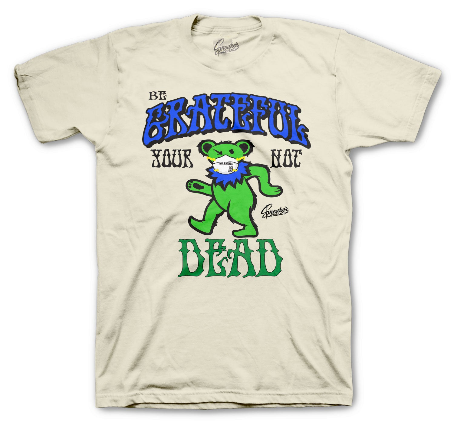Dunk SB Grateful Alive Shirt - Sail/Green