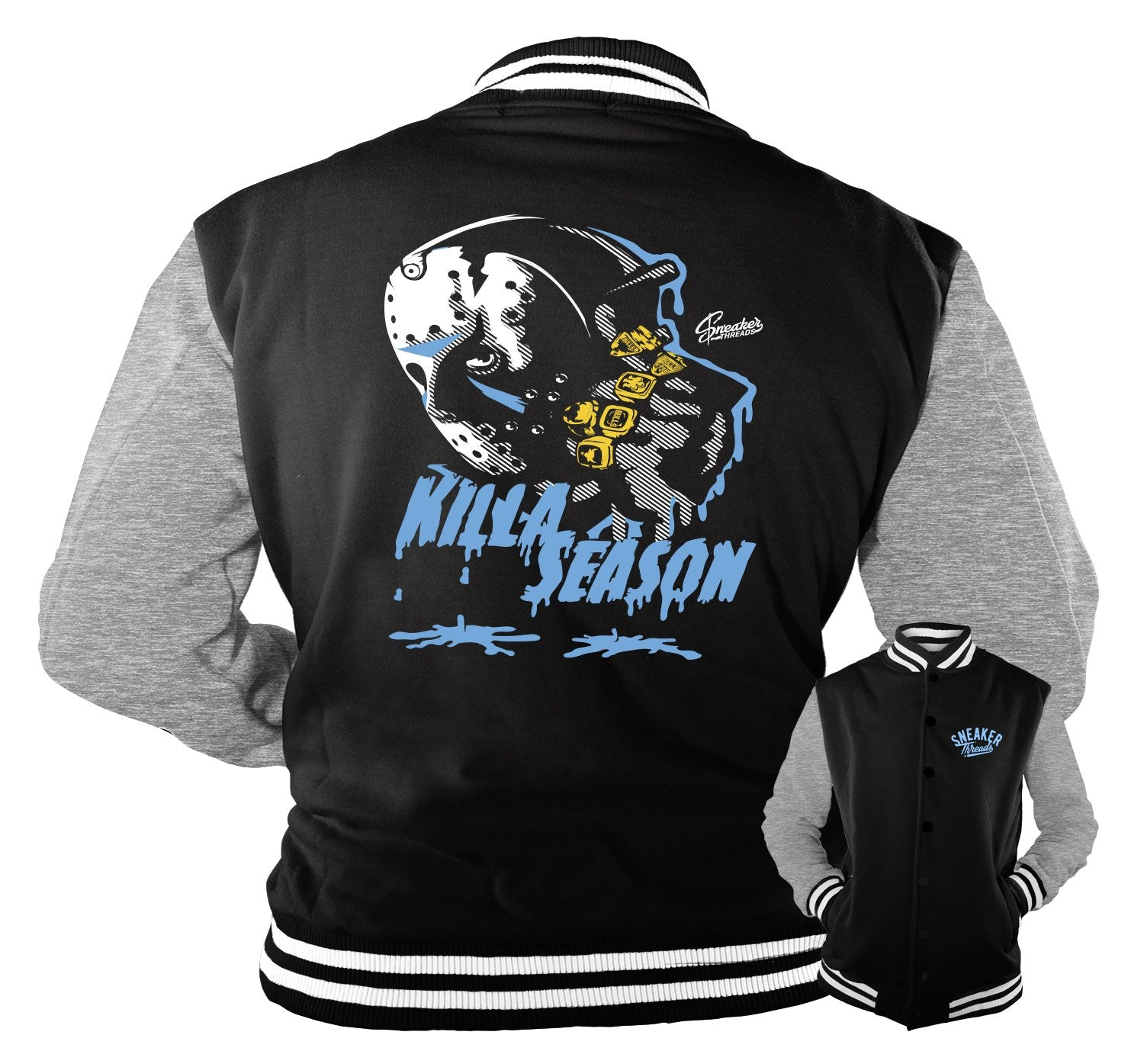 Jackets match Jordan 3 UNC sneakers | Retro 3 coat match