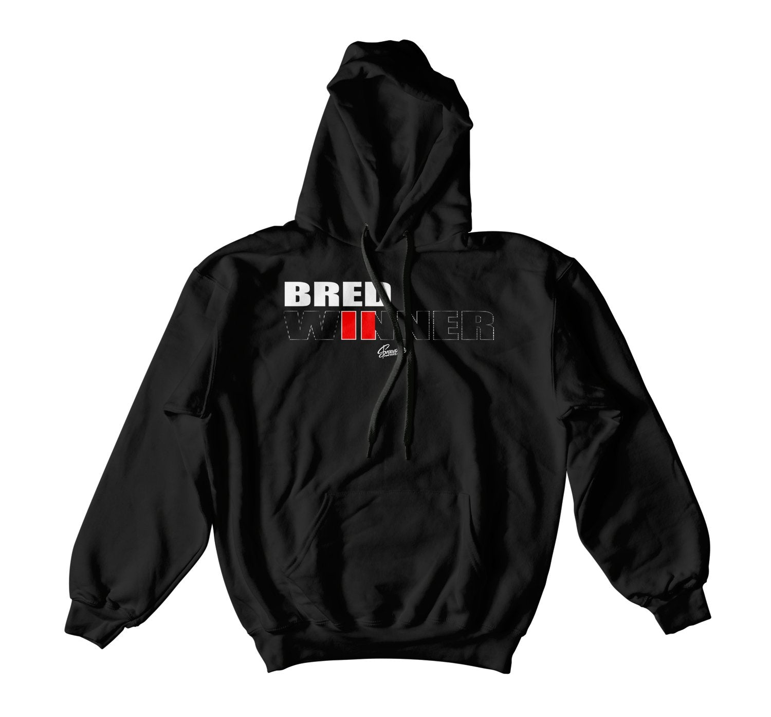 collection of hoodies designed to match the Jordan 11 bred sneaker collection