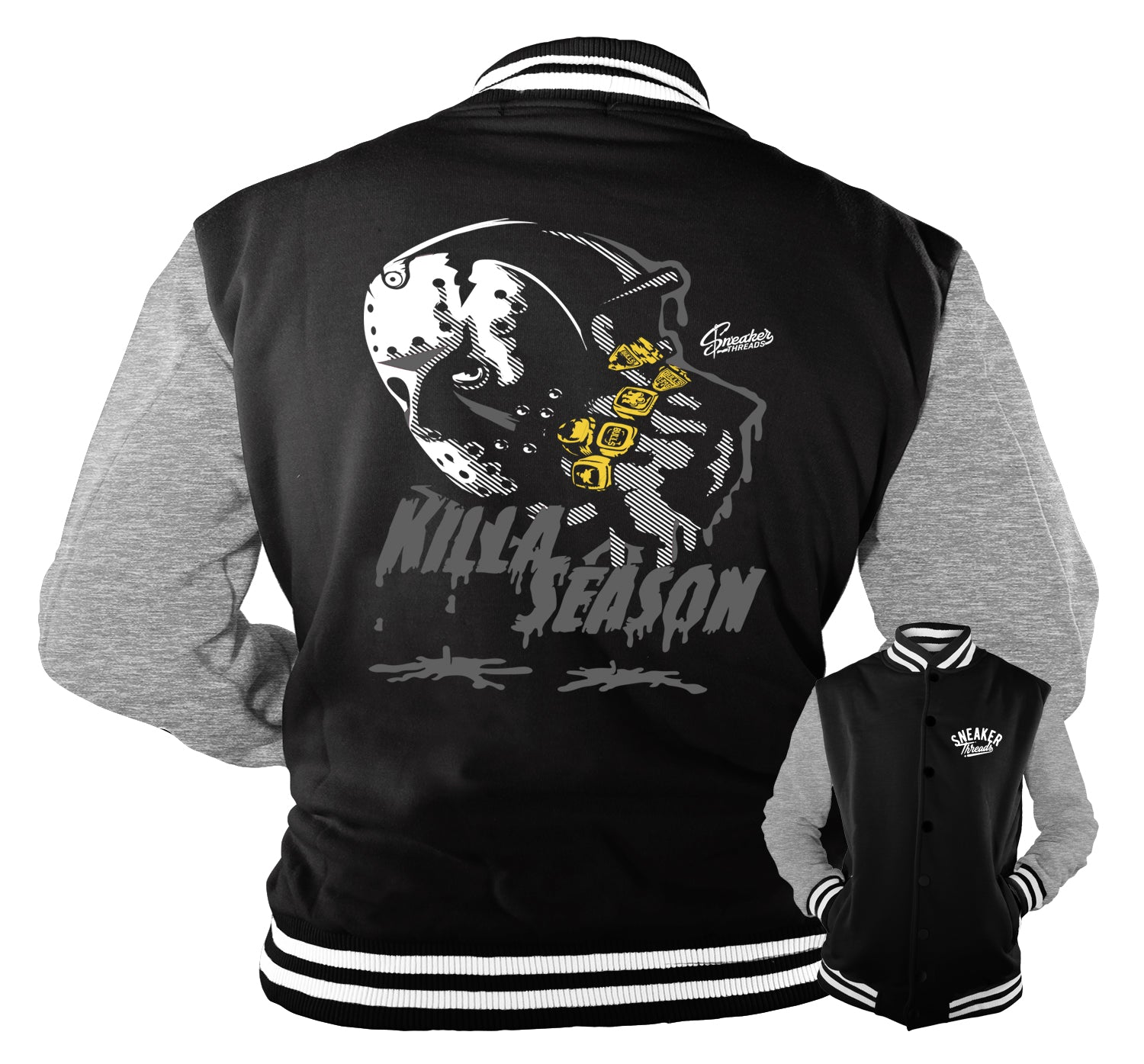 Jordan 4 Black Cat Killa Season Jacket