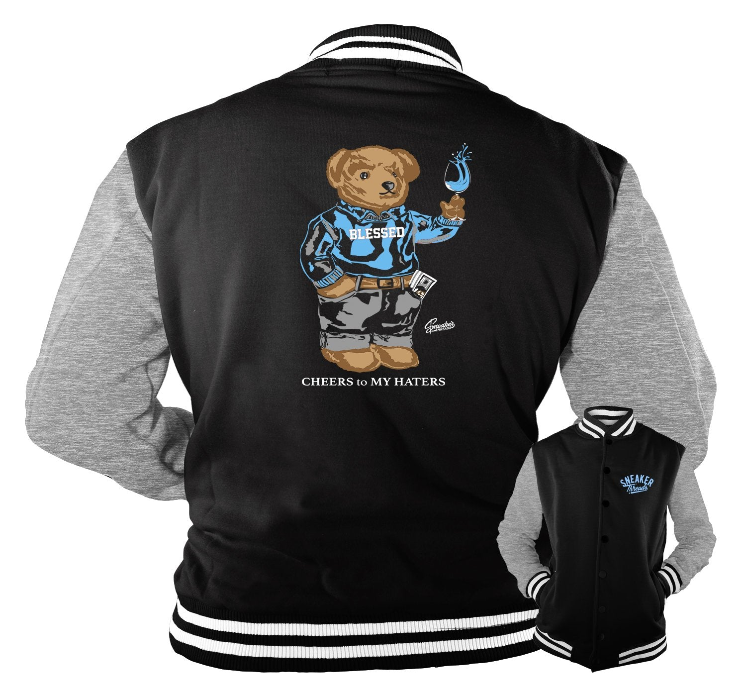 Jacket collection designed to match the sneaker unc collection 3s