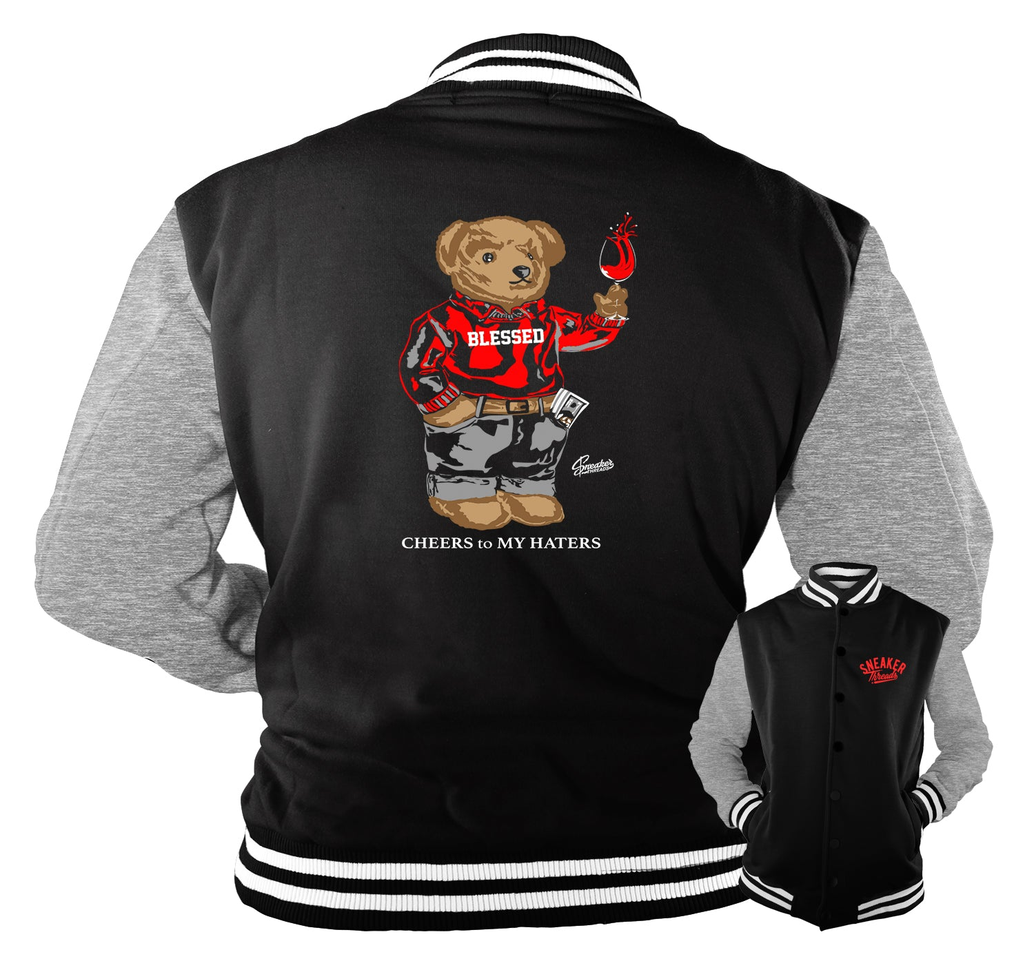Jordan 13 Reverse Got Game Cheers Bear Jacket