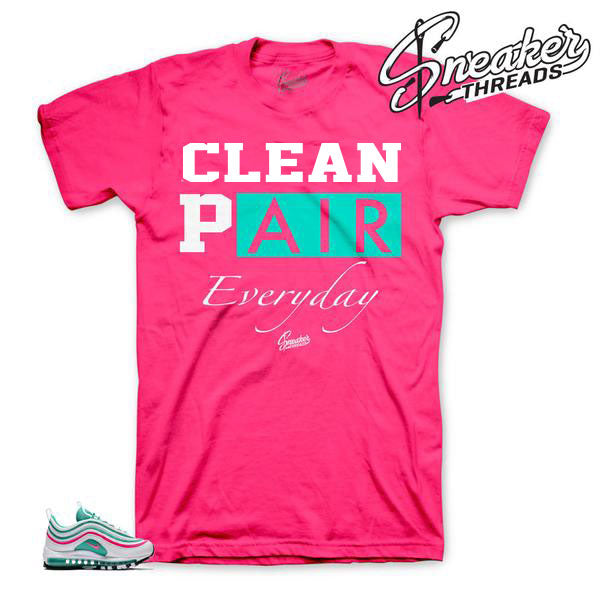 Official matching air max south beach tees shirts for 97 90 and 1.
