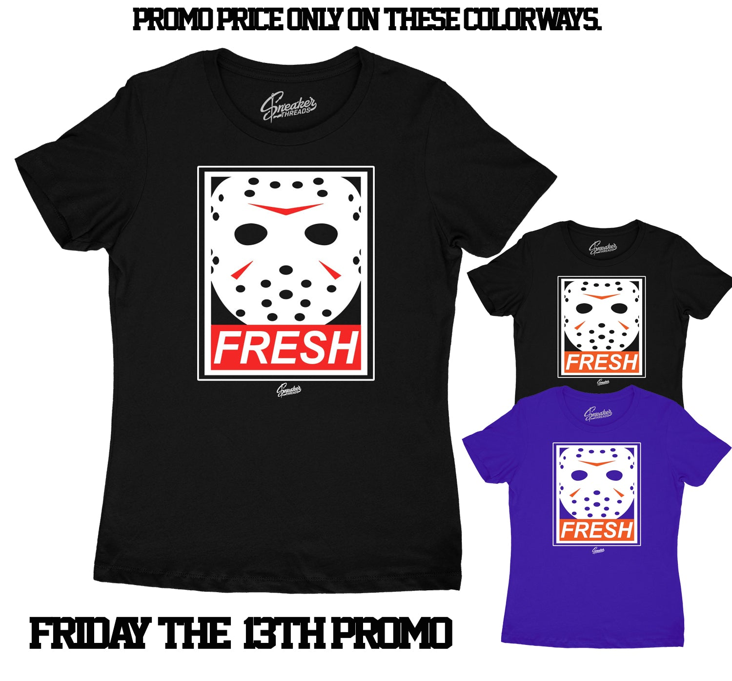Womens - Fresh Death Shirt - Friday The 13th Special