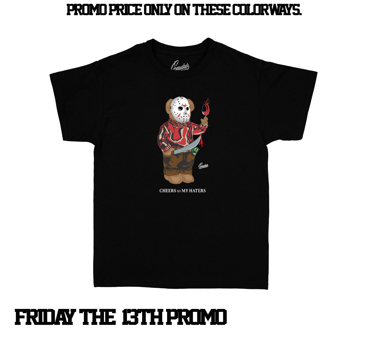 Kids - Jason Bear Shirt - Friday The 13th Special