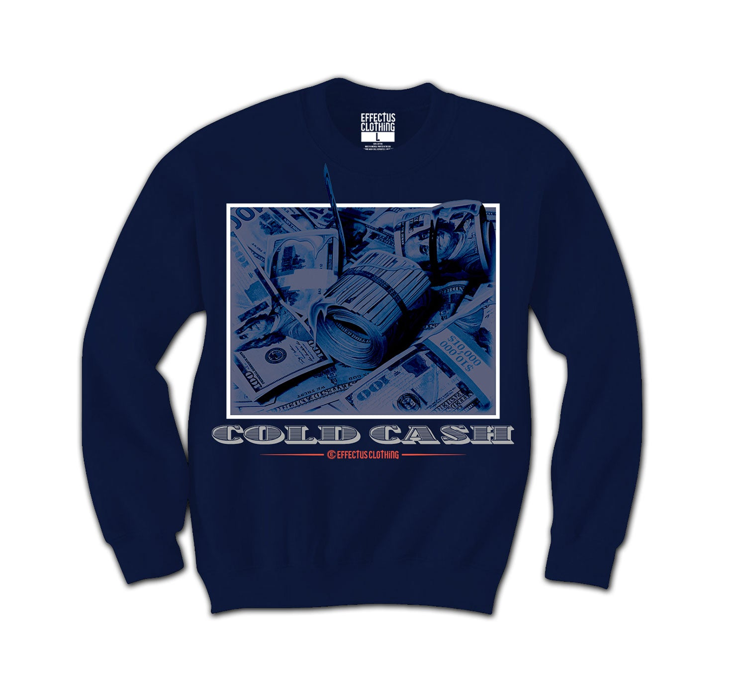 Jordan 4 Loyal Blue Cold Money Sweater