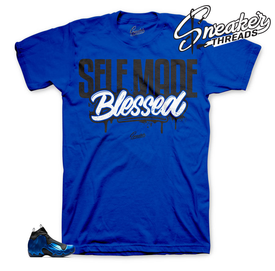 Flightposite royal sneaker shirts|  flightposite tees match shoes | sneaker tees