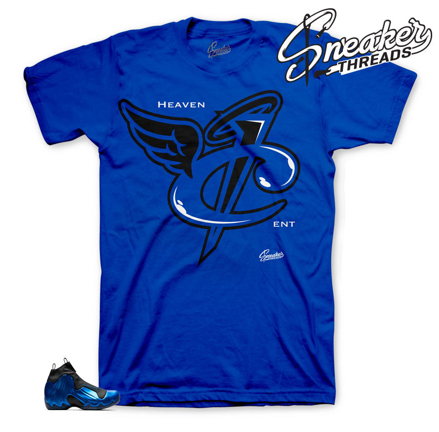 Flightposite royal sneaker tees to match flightposite shoes | sneaker tees