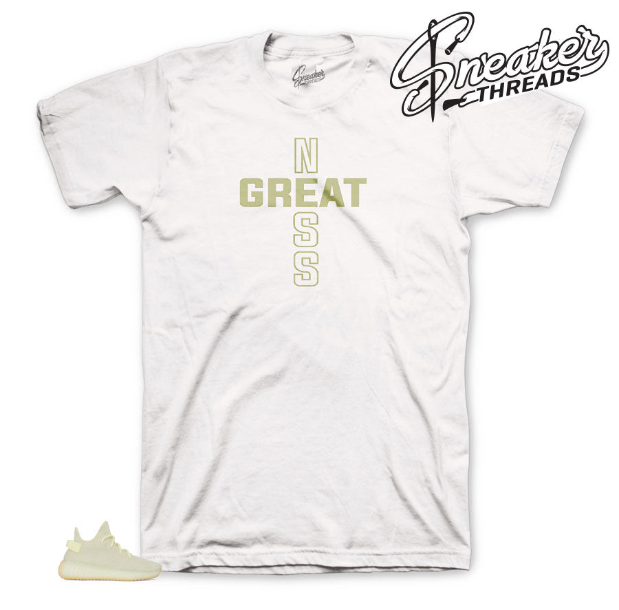 Cross of Greatness Shirt To match Yeezy Butters