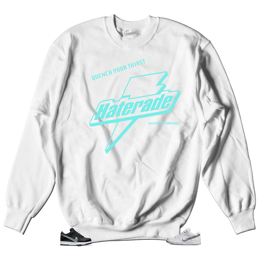 The Dunk SB diamond Sweater to match the dunk sb diamond shoes