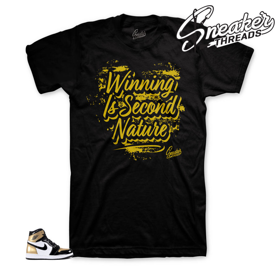Jordan 1 NRG gold toe tees match | Sneaker match gold toe 1 tee shirts