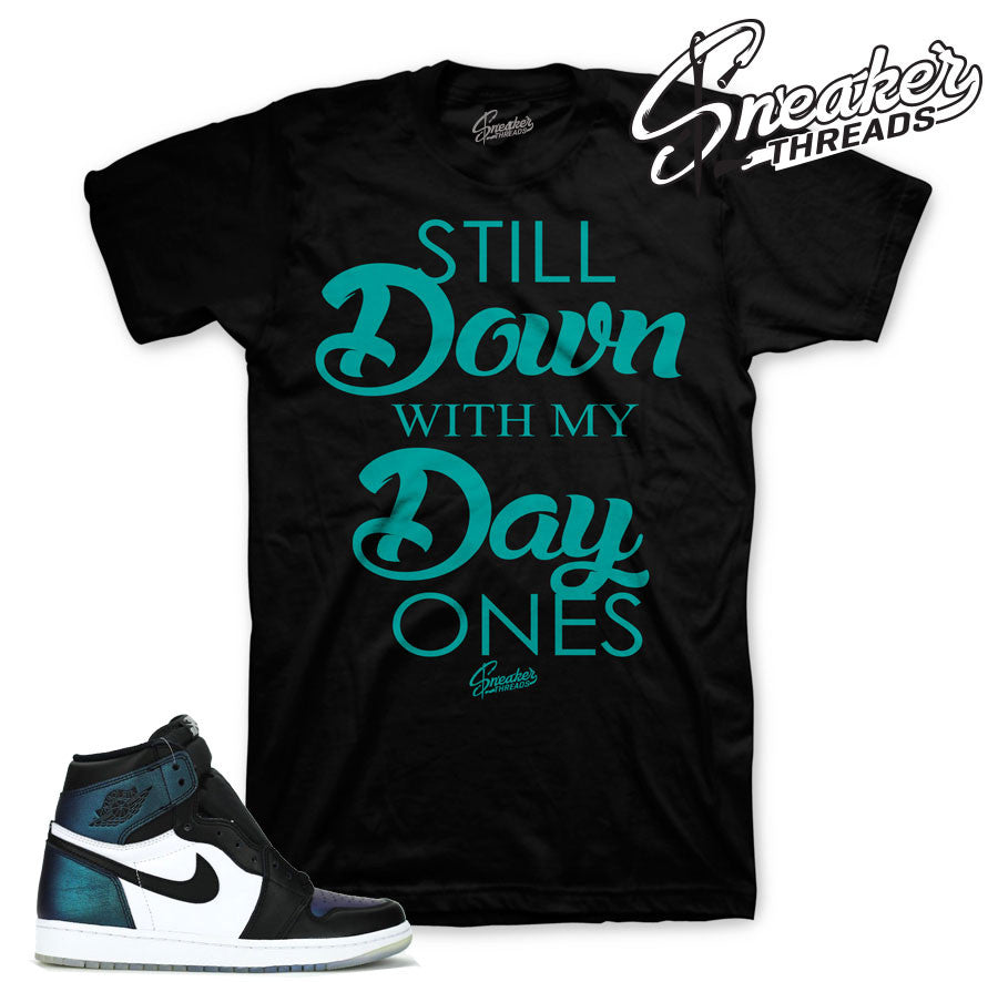 Jordan 1 all star OG shirts match retro 1 all star shoes.