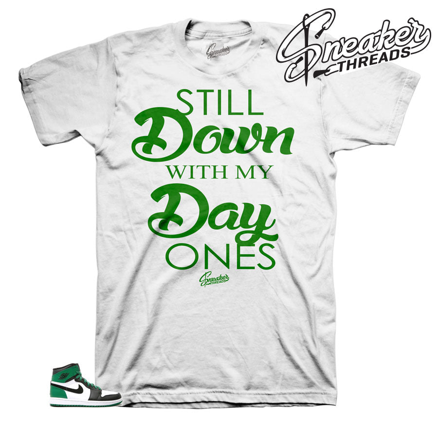 22e60593fb91 Home Jordan 1 Pine Green Day Ones Shirt. Share