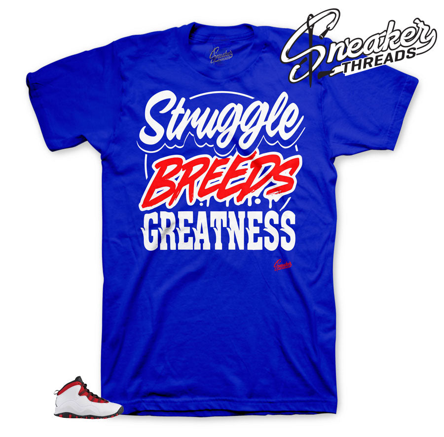 Struggle Breeds Greatness tee for Westbrook 10's