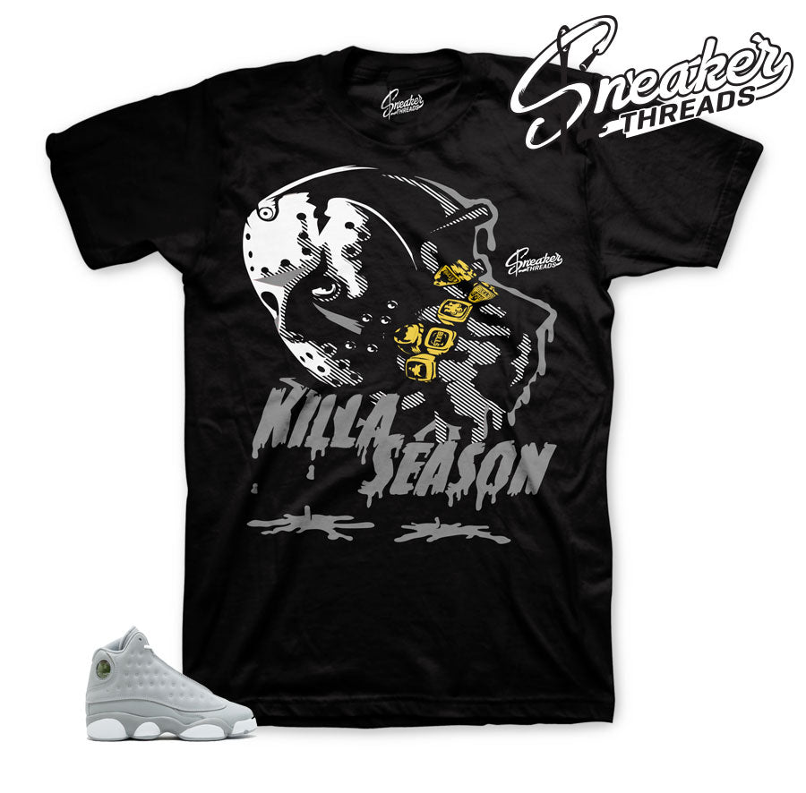 Jordan 13 wolf Grey Killa Season Shirt