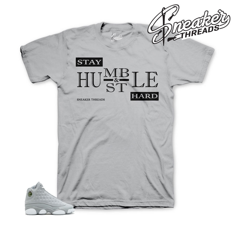 Jordan 13 wolf Grey Humble Shirt
