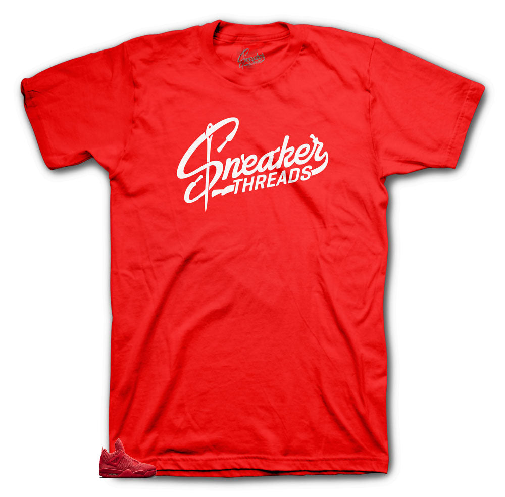 Jordan 4 Sneaker Threads Original shirt for Red Flyknit 4's