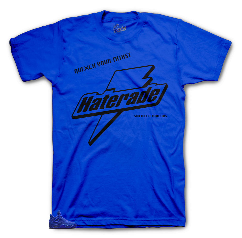 Jordan  Haterade shirt to match Royal Flyknit 4's