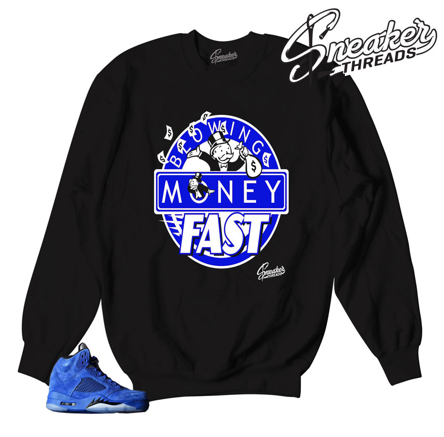 Sweaters match Jordan 5 Blue suede | Sneaker threads.