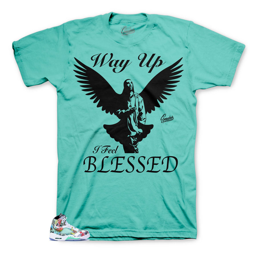 Jordan 5 Wings Way Up Shirt