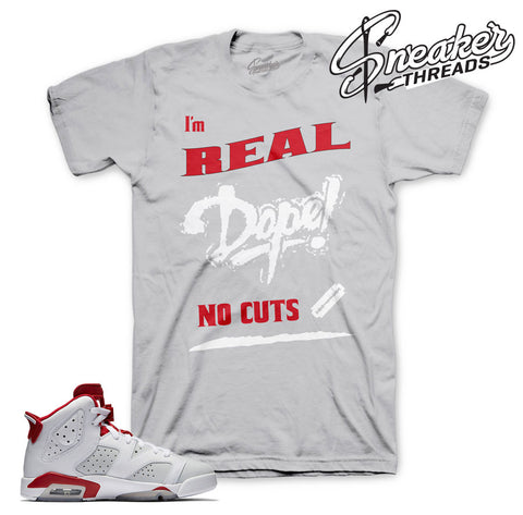 Jordan 6 alternate shirts match retro 6 alternate sneakers.