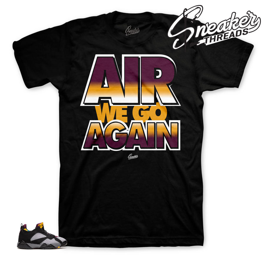 Jordan 7 low bordeaux sneaker tees match retro 7 NRG low bordeaux.