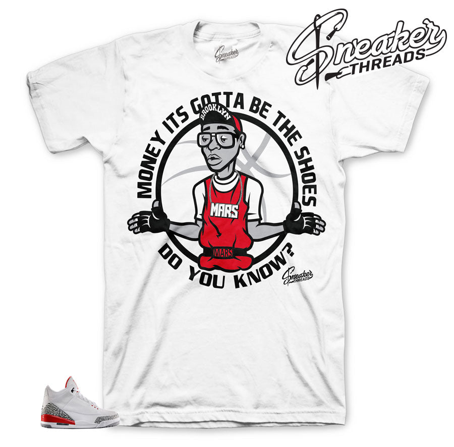 Jordan 3 katrina shirts match | Official sneaker tees match retro 3.