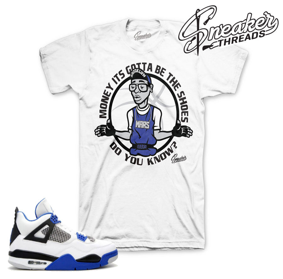 Jordan 4 motorsports tee | Best tees match shoes.