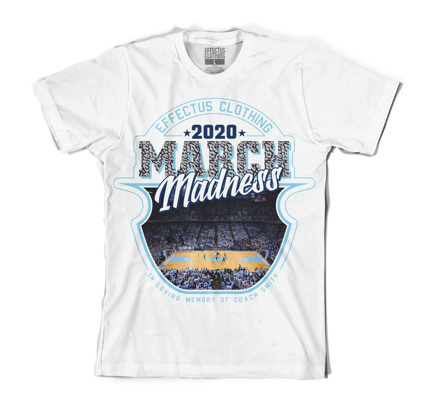 Jordan 3 UNC March Madness Shirt