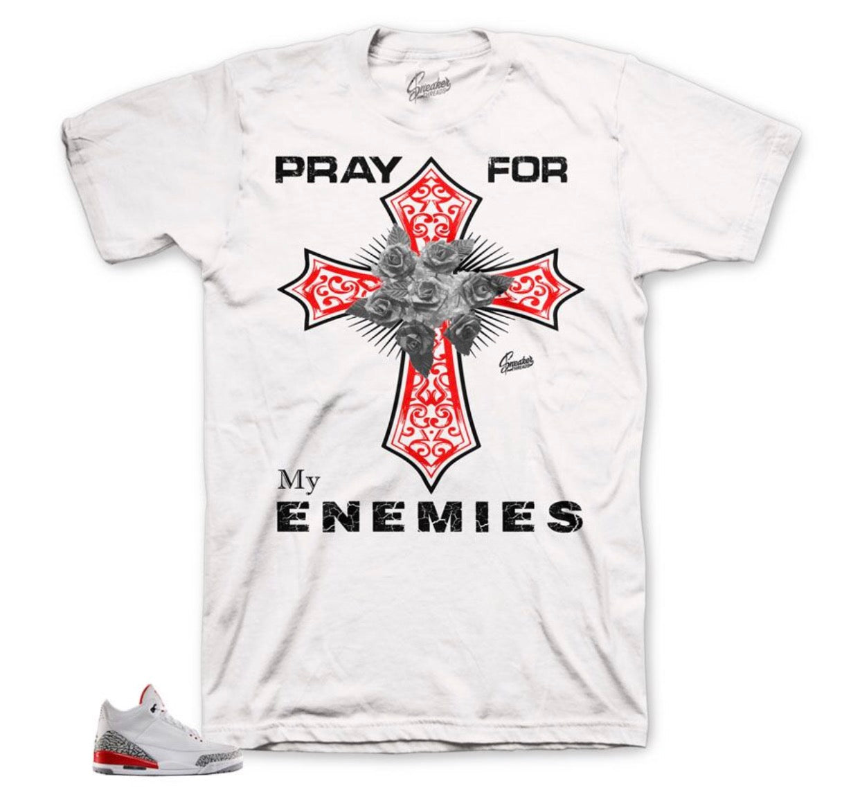 Jordan 3 Hall of Fame Pray Shirt