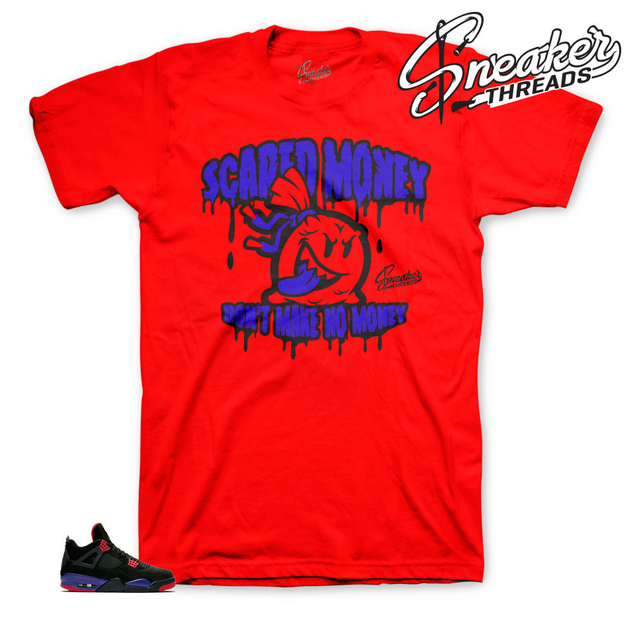 Cool Shirts t match Jordan 4 Raptor