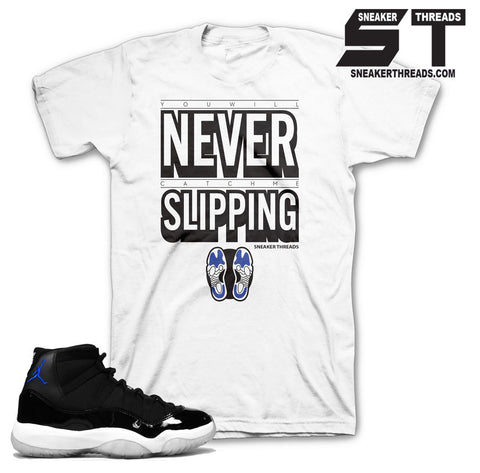 Shirts match jordan 11 space jam retro 11 space jam sneaker tees.