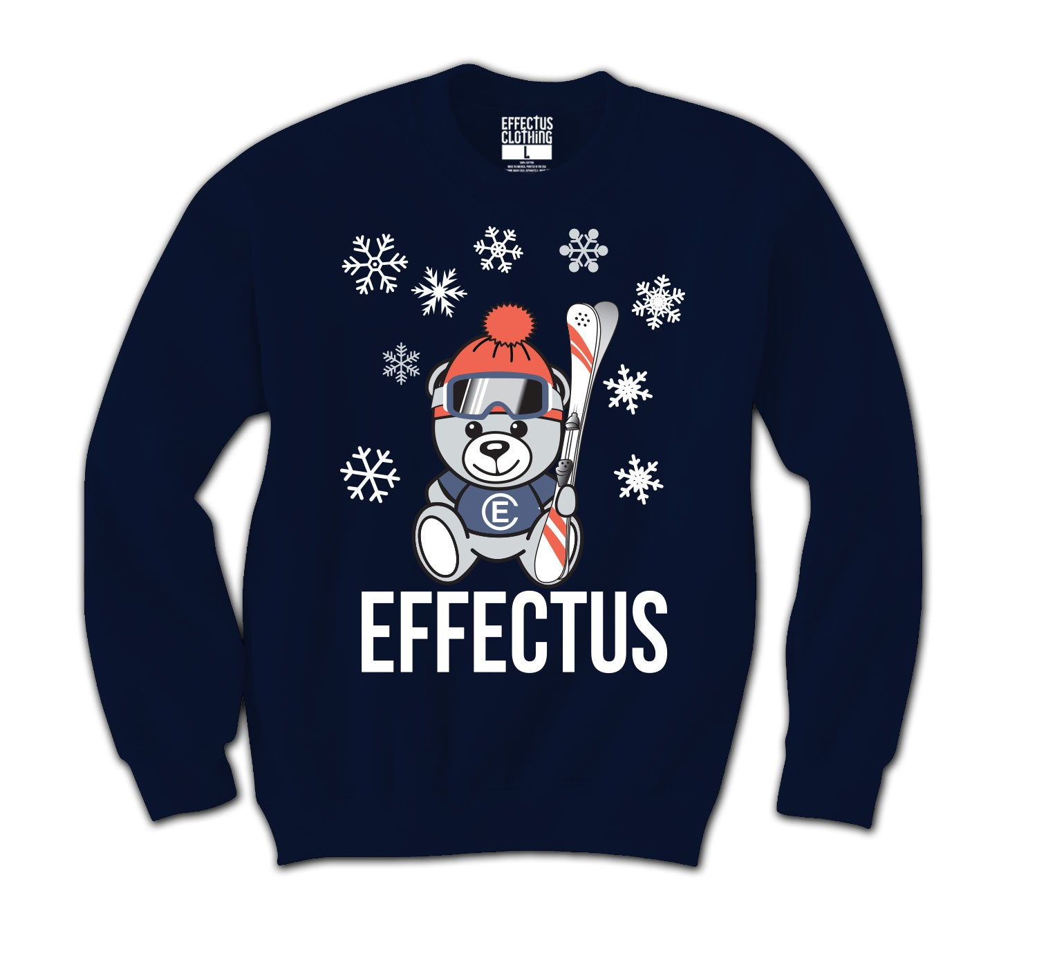 Jordan 4 Loyal Blue Effectus Bear Sweater