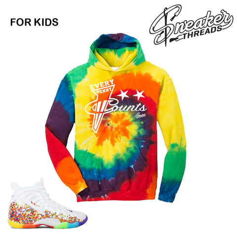 Kids Foamposite Fruity Pebbles Every Penny Hoody