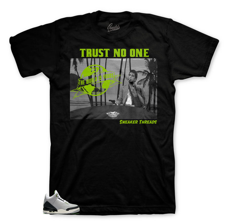 Jordan 3 Chlorophyll Tony Knows Shirt
