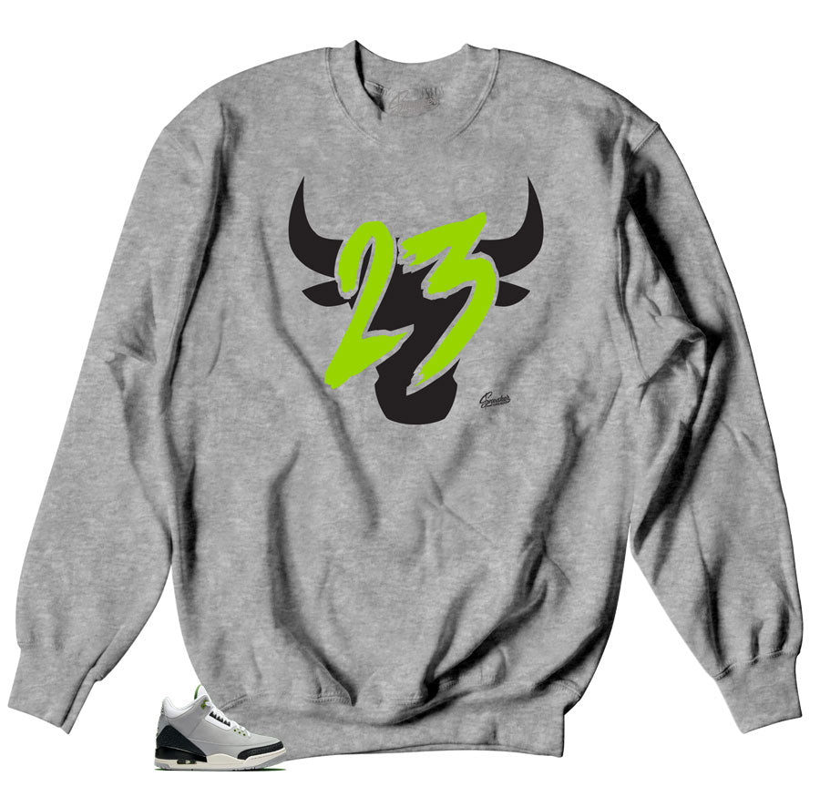 Toro Sweater  to Match Jordan Chlorophyll 3
