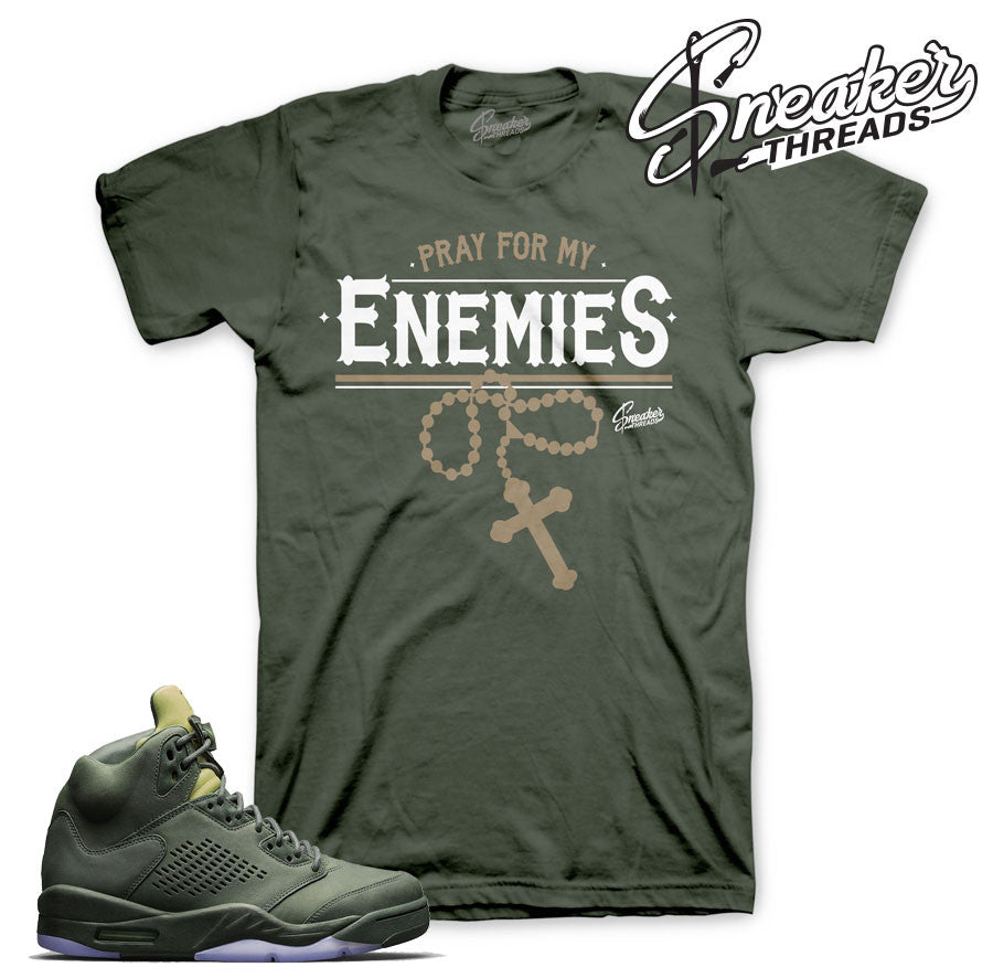 Take flight 5 tees match Jordan 5 sneaker tees.