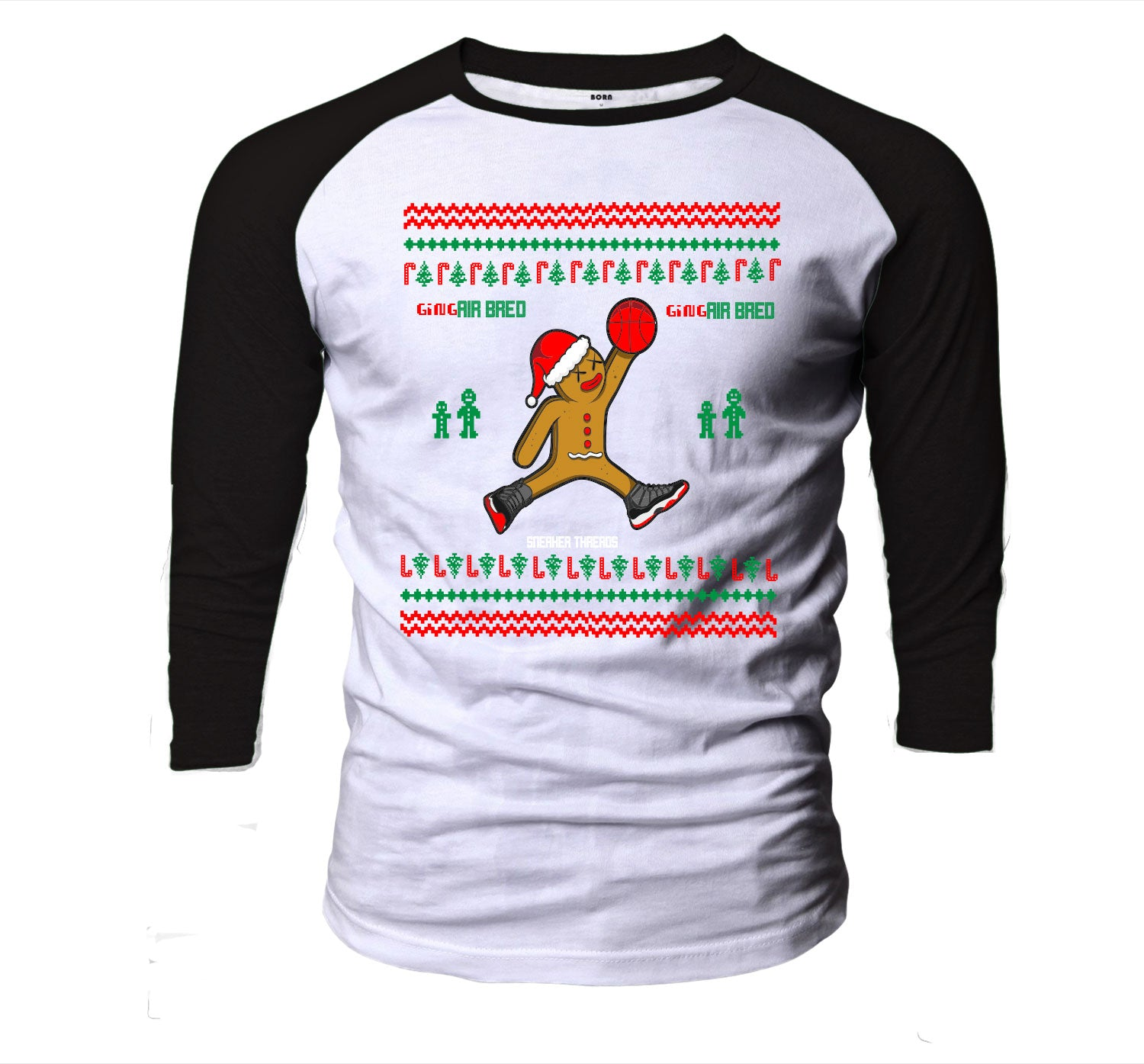 Ugly Christmas Raglan - Air Bred