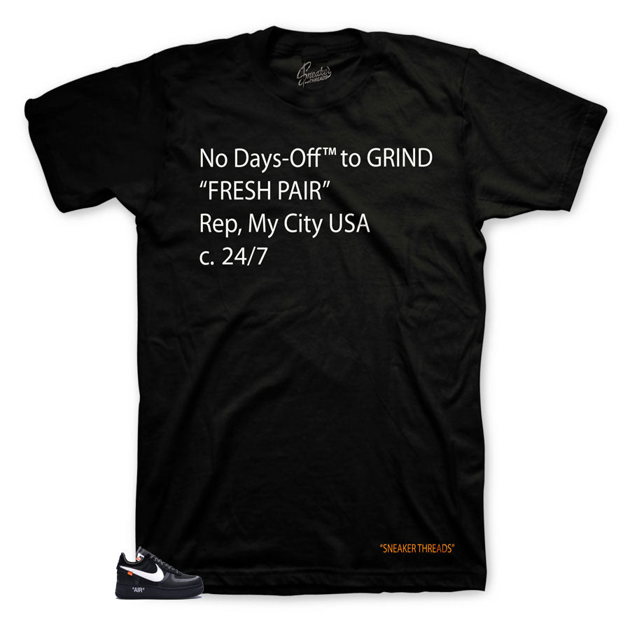 Air Force 1 The Ten Black Off-Days Shirt