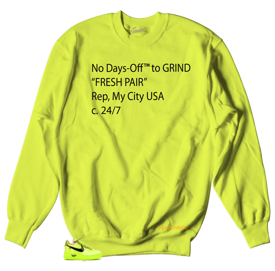 Air Force 1 The Ten Volt Off-Days Sweater