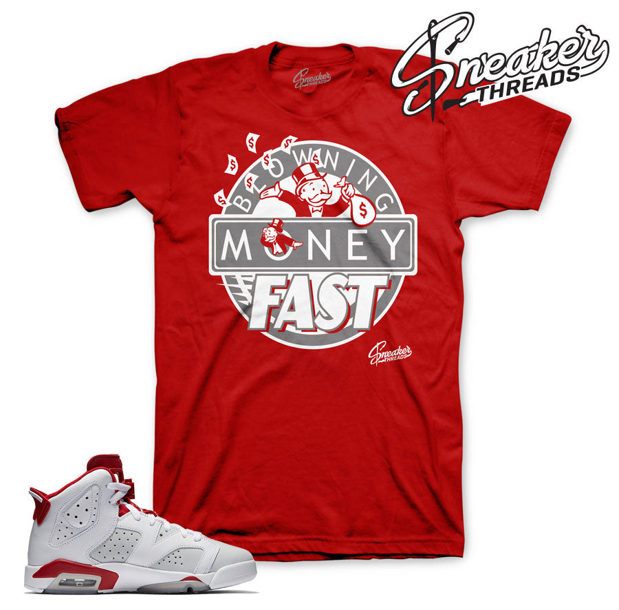 e95b916b5ce25a Alternate Jordan 6 shirts match retro 6 alternate shoes.