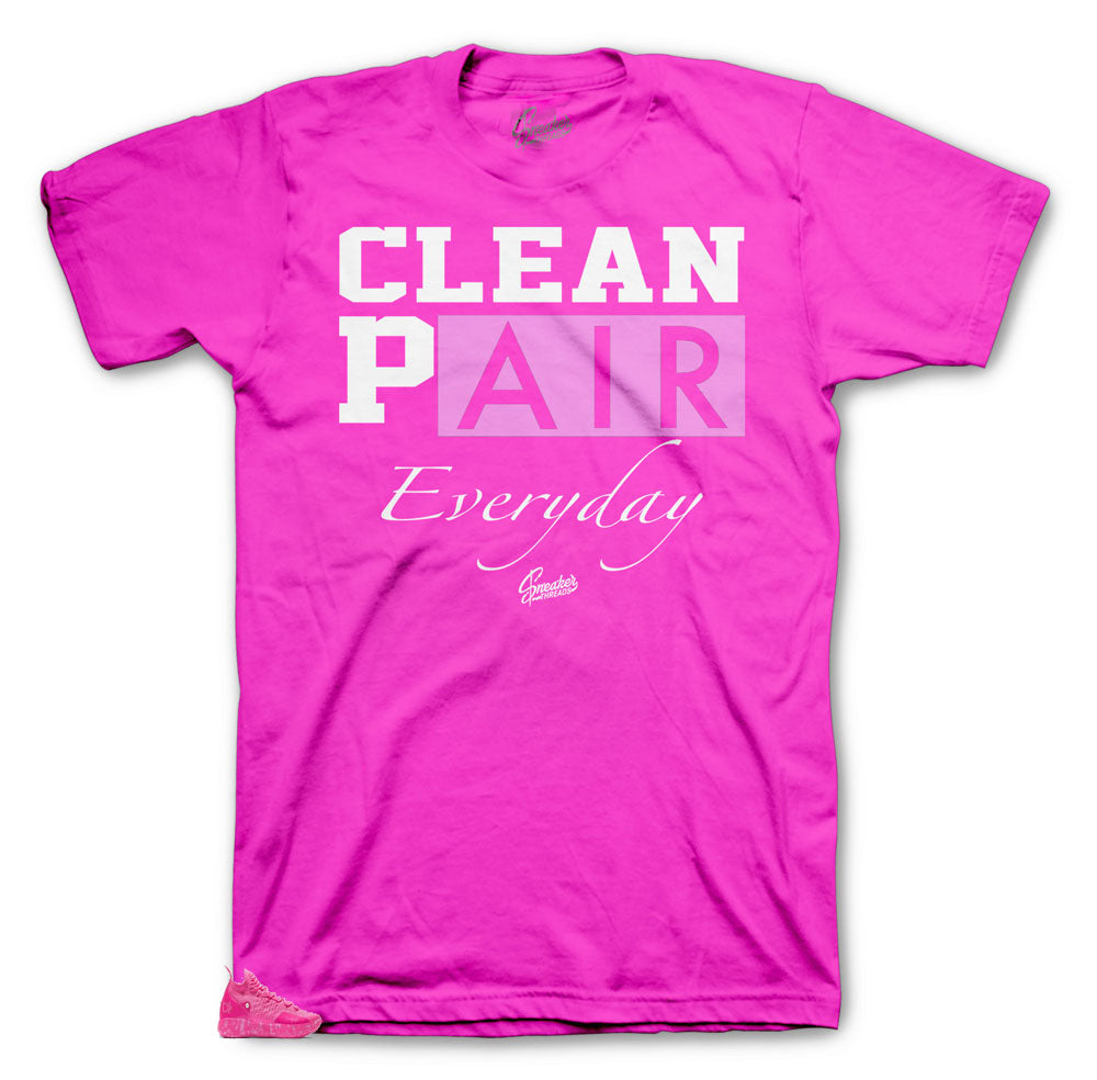KD 11 aunt pearl sneaker tees match shoes | Aunt pearl shirts.