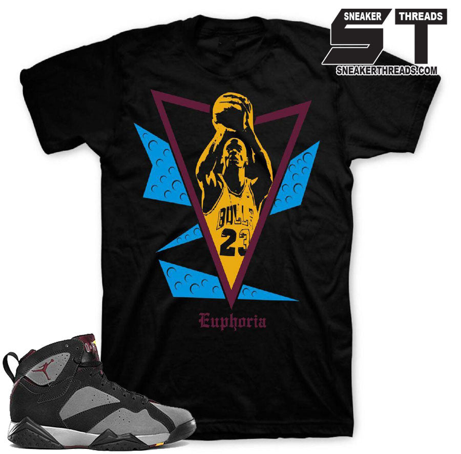 Shirts to match Jordan 7 bordeaux 7's shoes. Bordeaux Shirts.